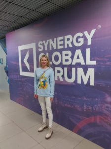 Елена Червонец на Synergy Global Forum