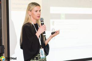 Елена Черовнец на Анатомии медицинского маркетинга