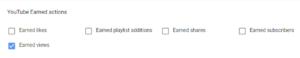 действия на youtube